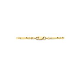 Collier valken/-arendsoog 2,3 mm 45 cm | Goudkleur