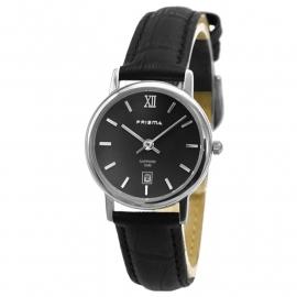 Prisma Dames Horloge P.2118 Edelstaal/Saffierglas
