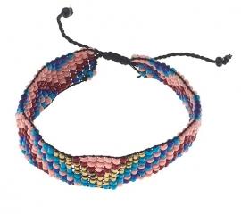 MUSTHAVE: BIBA armband van geweven kraaltjes 5810MIX.C6