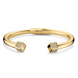 Dames Armband met Zirkonia Kubussen TJ2700741