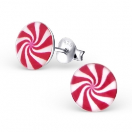 Twist Zilveren Oorbellen Voor Kinderen