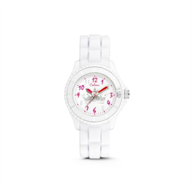 Wit KIDZ Horloge met Kroontje van Colori Junior