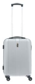 Zilverkleurige ABS Cabin Case van Davidts