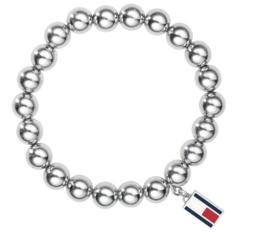 Edelstalen Bolletjes Armband voor Dames van Tommy Hilfiger TJ2700501