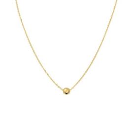 Gouden Bolletjes Collier voor Dames