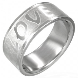 LOVE RING / Ringen Graveren SKU3149