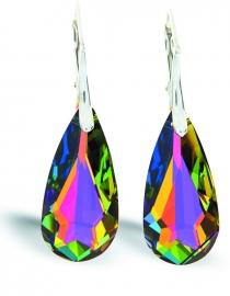 Teardrop Regenboog Swarovski Oorhangers van Spark Jewelry