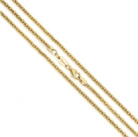 Medaillon collier van MY iMenso / Goudkleurige coating 27-0024