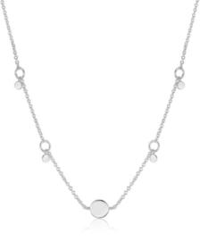 Ania Haie Geometry Class Zilveren Schakelketting voor Dames