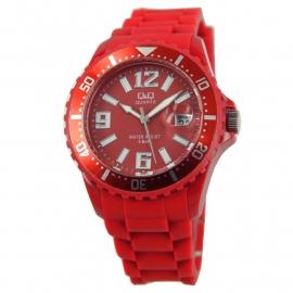Horloge in de kleur rood / Q&Q Horloges
