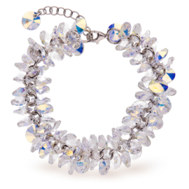 Frou Frou Gekleurde Swarovski Armband van Spark Jewelry