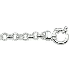 Jasseron Ketting 5,5 mm van Zilver voor Dames