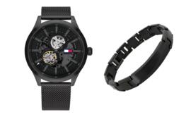 Horloge van Tommy Hilfiger + XS4M-122B Armband | Giftset