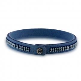 Tennis Doble Swarovski Blauwe Armband van Spark Jewelry