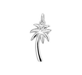 Palmboom Hanger van Gerhodineerd Zilver