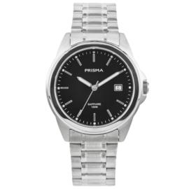 Prisma Heren Horloge met Edelstalen Horlogeband