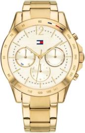 Tommy Hilfiger Goudkleurig Dames Haven Horloge