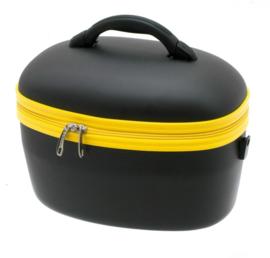 Zwart met Gele Beauty Case van Davidts