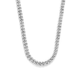 Zilveren Dames Collier Gourmet 5,8 mm 46 cm
