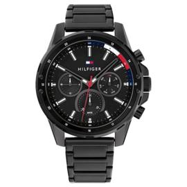 Tommy Hilfiger Sportief Heren Horloge met Zwarte Kleur