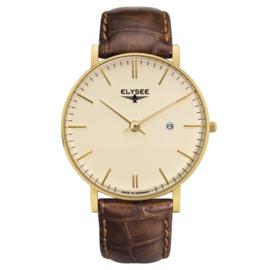 Klassiek Zelos Heren Horloge van Elysee