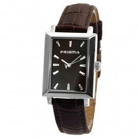 Prisma Horloge / Horlogeband in Bruin Leer P.2181