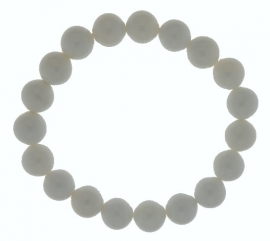 Zoetwater Schelp / Elastische armband 27-0514