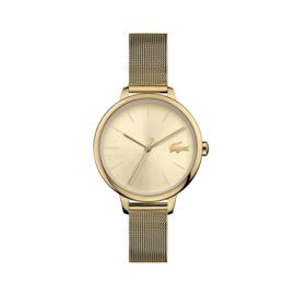 Lacoste Goudkleurig Cannes Horloge voor Dames