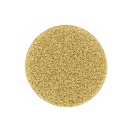 Goudkleurige Glas Munt met Gediamanteerde Bewerking