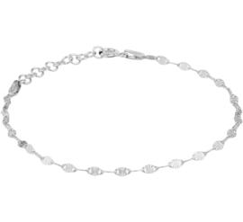 Zilveren Armband met Grote Anker Schakels