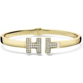 Goudkleurige Dames Armband met Zirkonia T en H TJ2700984