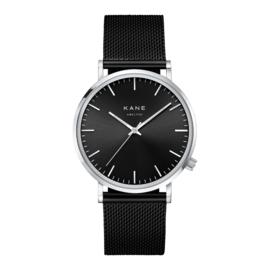 KANE Horloge met Zwarte Milanese Horlogeband
