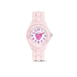 Lichtroze KIDZ Horloge met Roze Hartje van Colori Junior