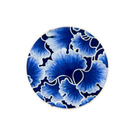 Blauwe Emaille Bloem Munt van Zilver van MY iMenso