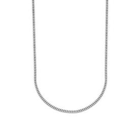 Zilveren Collier Gourmet 2,4 mm 50 cm