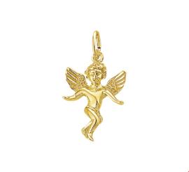 Gepolijste Engel Hanger van Geelgoud