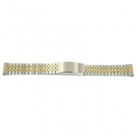 Horlogeband YF83 Metaal Bicolor 18mm