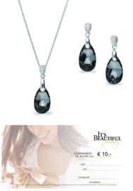 Swarovski Giftset van Spark Jewelry + Een It's Beautiful cadeaubon waarde € 10,-