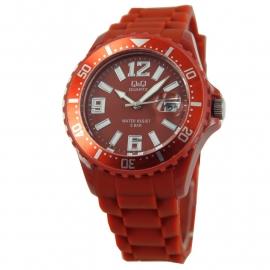 Roodbruine Horloge / Q&Q Horloges