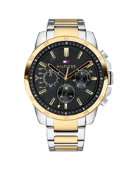 Tommy Hilfiger Luxueus Horloge met Goudkleurige Decoraties TH1791559