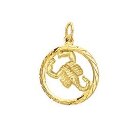 Sterrenbeeld Schorpioen Gouden Hanger