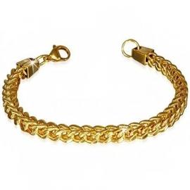 Goudkleurige Gourmet armband