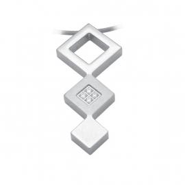 Edelstalen Triple Square Hanger van C MY STEEL