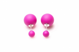 Double Dots® Oorbellen Matte Lollipop 11126