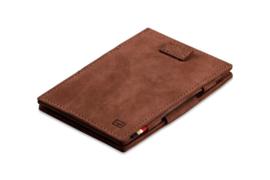 Javabruine Magic Wallet Portemonnee van Cavare Garzini
