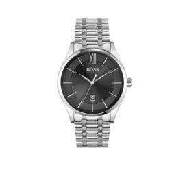 Hugo Boss Horloge Distinction Zilverkleurig Horloge met Edelstalen Band van Boss