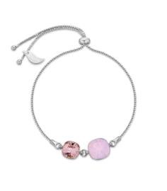 Armband van Spark Jewelry met Water Opal Glaskristallen