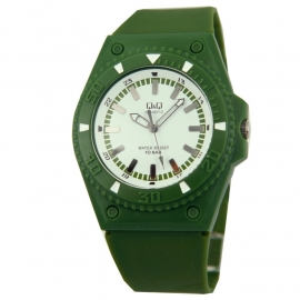 Groen Q&Q Horloge