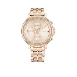 Roségoudkleurig Madison Dames Horloge van Tommy Hilfiger
