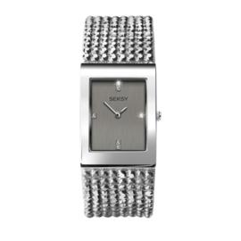 Sekonda Rechthoekig SEKSY Dames Horloge met Brede Band